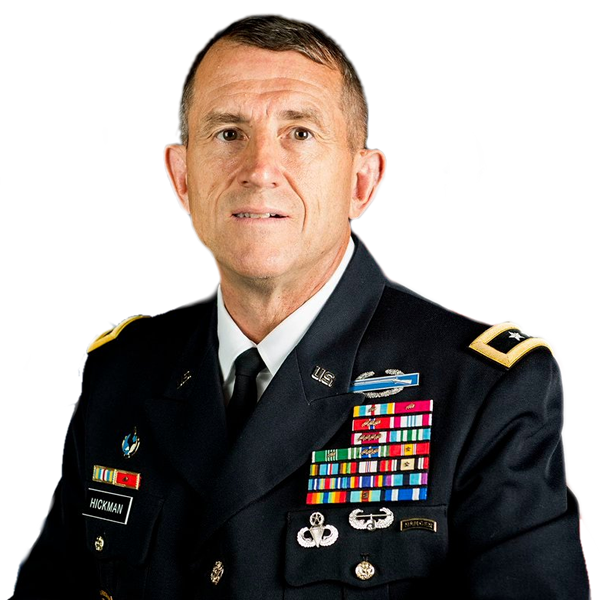 Major General William B. Hickman United States Army (Retired